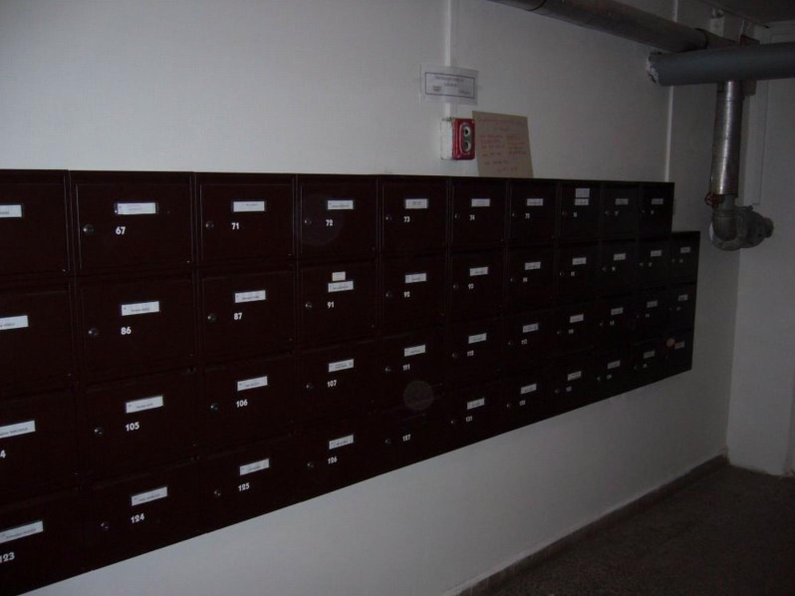 Nové poštovní schránky