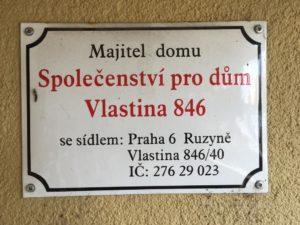 Vlastina 846 Praha